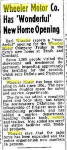 Wheeler Opening